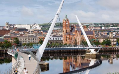 Monday's Monument: Peace Bridge, Derry, Northern Ireland