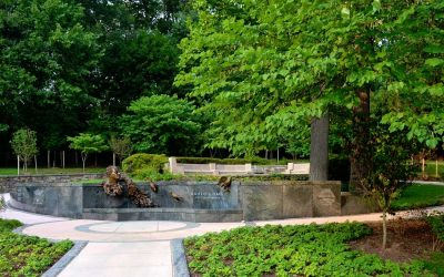 Monday's Monument: Kahlil Gibran Memorial Garden, Washington, D.C.
