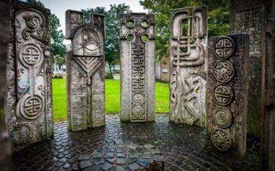 Monday's Monument: Henge, Glenrothes, Scotland