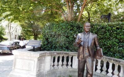 Monday's Monument: Mustafa  Kamâl Atatürk Statue, Washington, D.C.