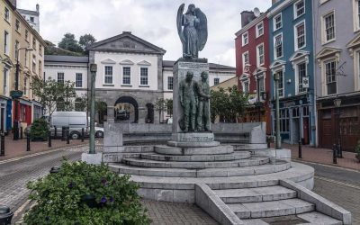 Monday's Monument: Lusitania Peace Memorial, Cobh, County Cork, Ireland