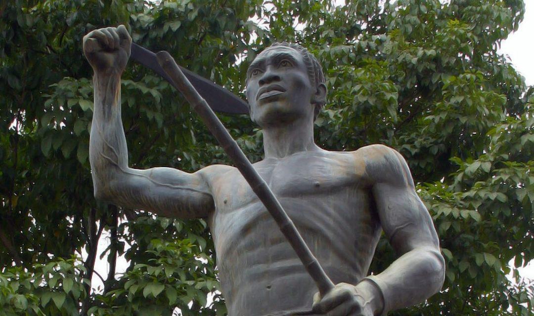 Monday's Monument: Gaspar Yanga Statue, Yanga, Mexico