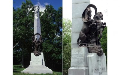Monday's Monument: Battle of Nashville Peace Monument, Nashville, Tennessee