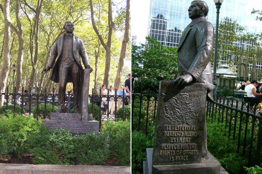 Monday's Monument: Benito Juárez Monument, New York, New York