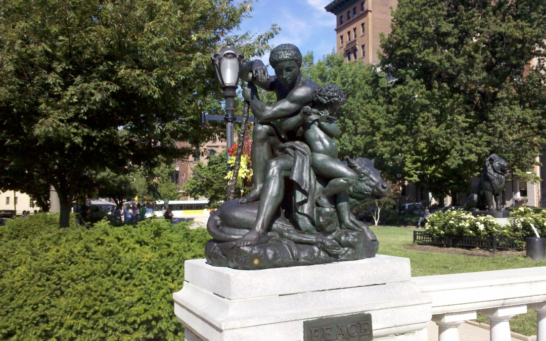 Monday's Monument: Baltimore's Peace Statue in Mount Vernon Place