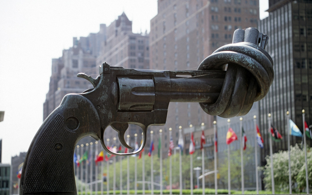 Monday's Monument: Knotted Gun, NYC