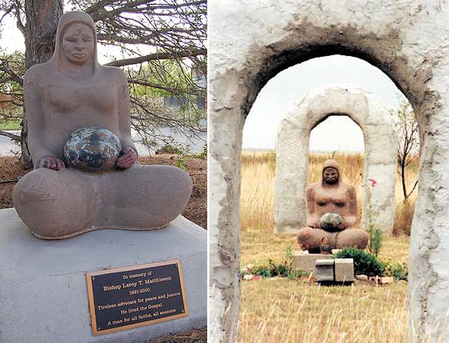 Monday's Monument: Madre del Mundo Statue, Amarillo, TX