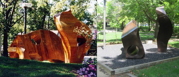 Monday's Monument: Peace Sculpture, Livermore, CA