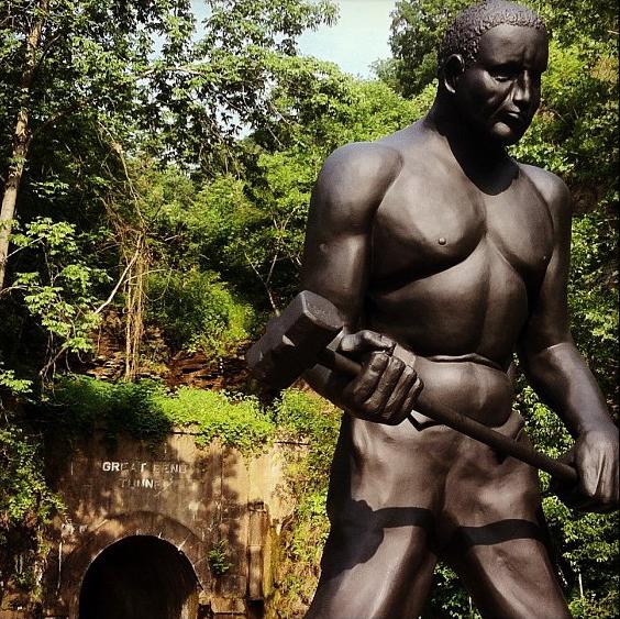 Monday's Monument: John Henry, Talcott, WV