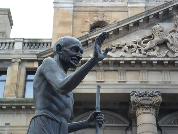 Monday's Monument: Gandhi Statue, Pietermaritzburg, South Africa