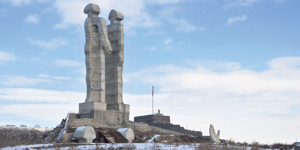 Monday's Monument: Monument to Humanity, Kars, Turkey