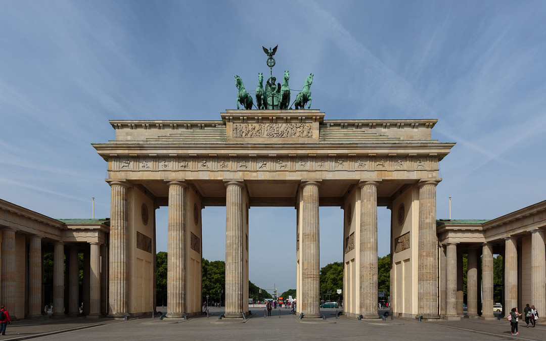 Monday's Monument: Brandenburg Gate, Berlin, Germany