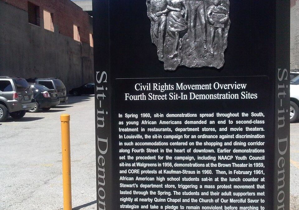 Monday's Monument: Civil Rights Trail, Louisville, KY