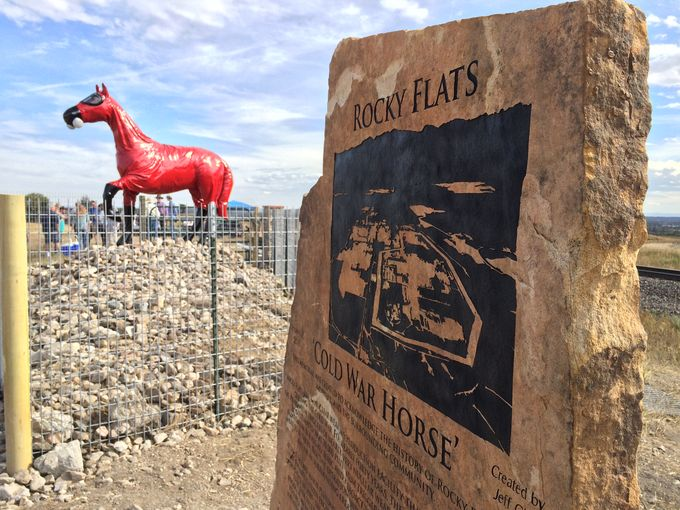 Monday's Monument: Cold War Horse, Arvada, Colorado
