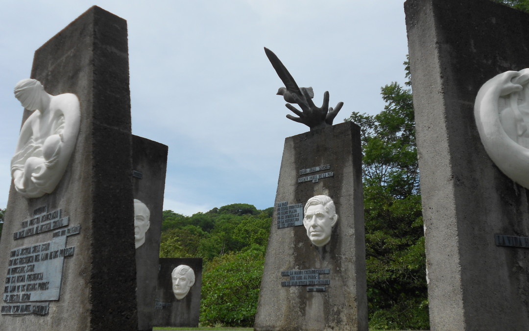 Monday's Monument:  Monument to Disarmament, Work & Peace, San Jose, Costa Rica