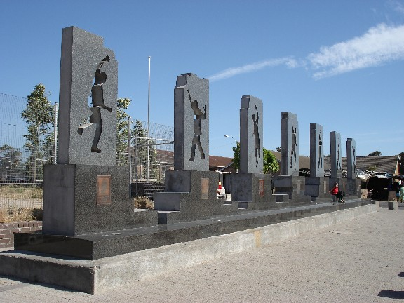 Monday's Monument:  Gugulethu Seven Monument, Gugulethu, South Africa