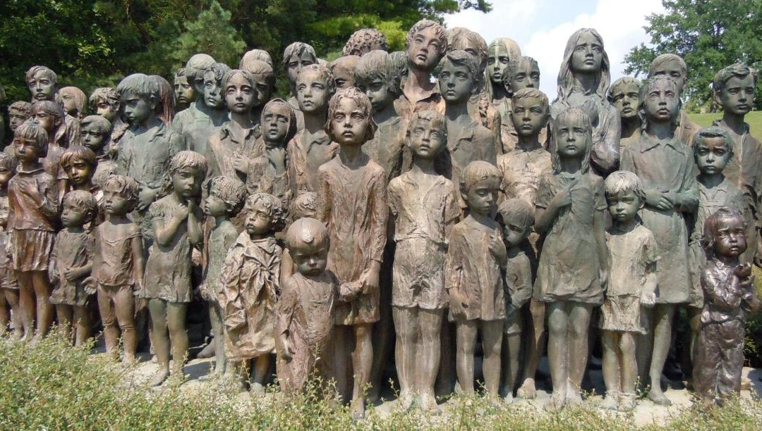 Monday's Monument: Memorial to the Children Victims of the War, Lidice, Czech Republic