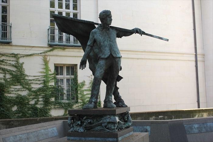 Monday's Monument: Cesar Chavez Statue, Austin, Texas