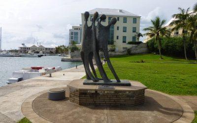 Monday's Monument:  We Arrive, Hamilton, Bermuda