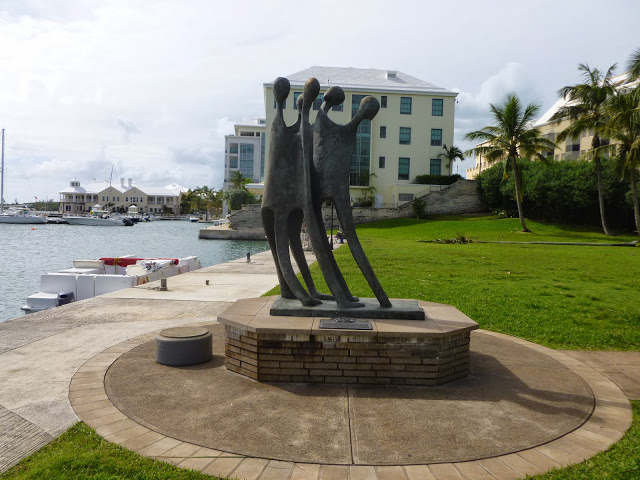 Monday's Monument:  We Arrive, Hamilton, Bermuda
