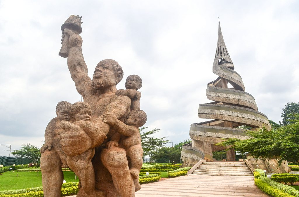 Monday's Monument: Reunification Monument, Yaoundé, Cameroon