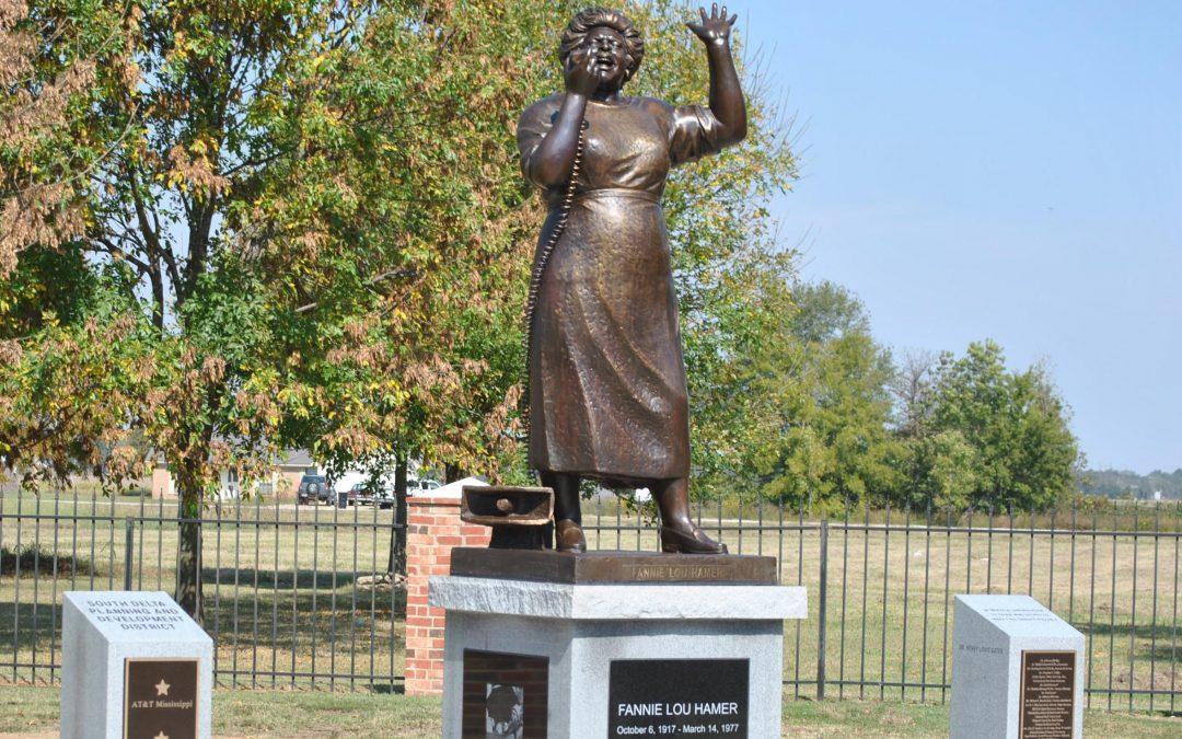 Monday's Monument: Fannie Lou Hamer Statue, Ruleville, Mississippi