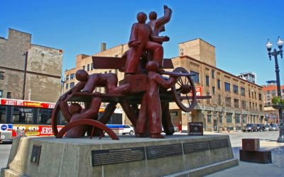 Monday's Monument: Haymarket Memorial, Chicago, Illinois