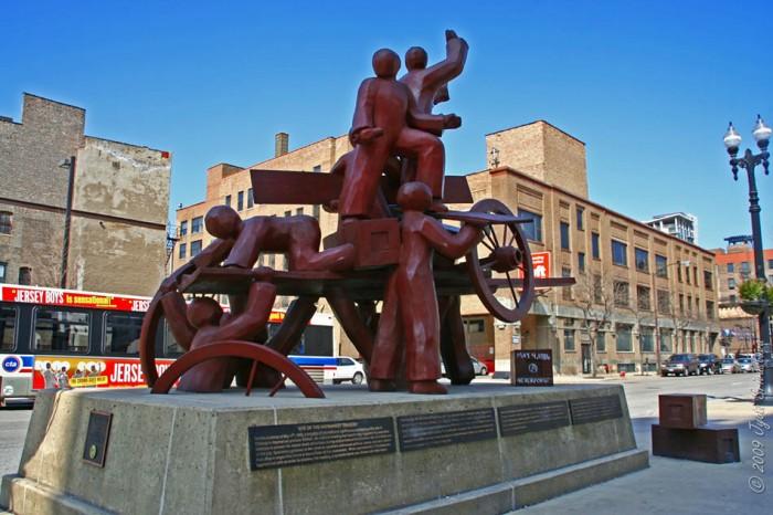 Monday's Monument: Haymarket Memorial, Chicago, Illinois