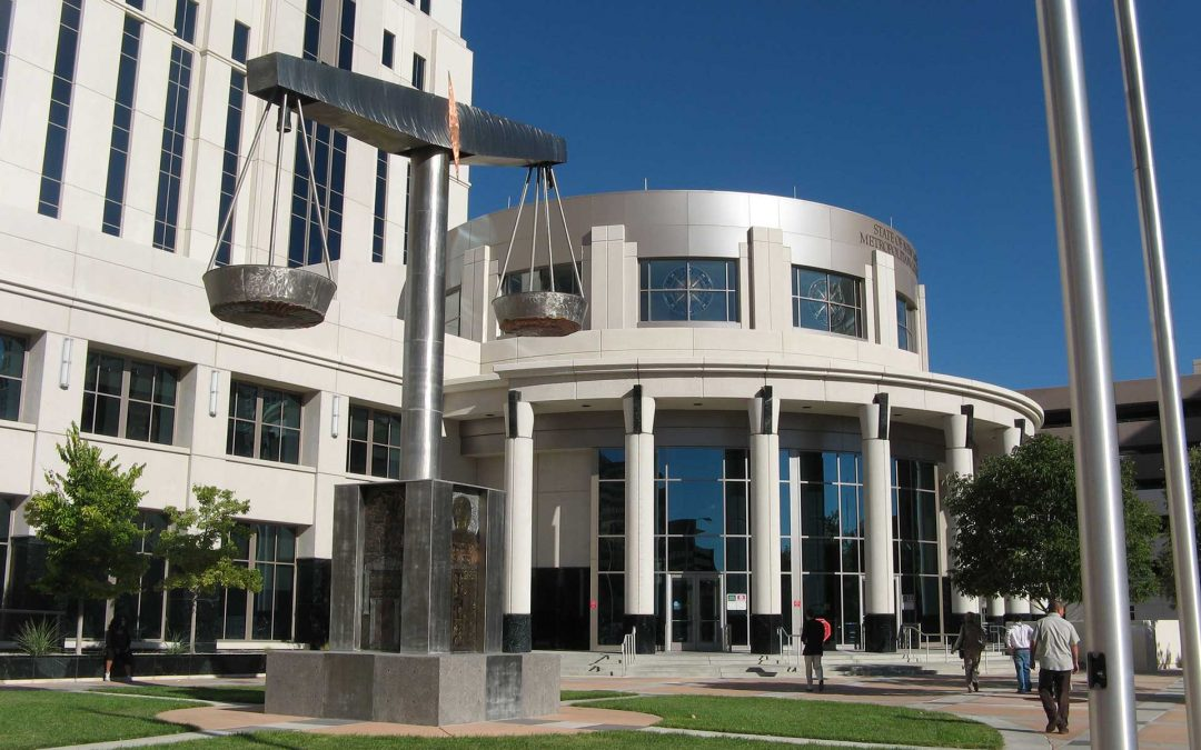 Monday's Monument: Scales of Justice, Albuquerque, New Mexico