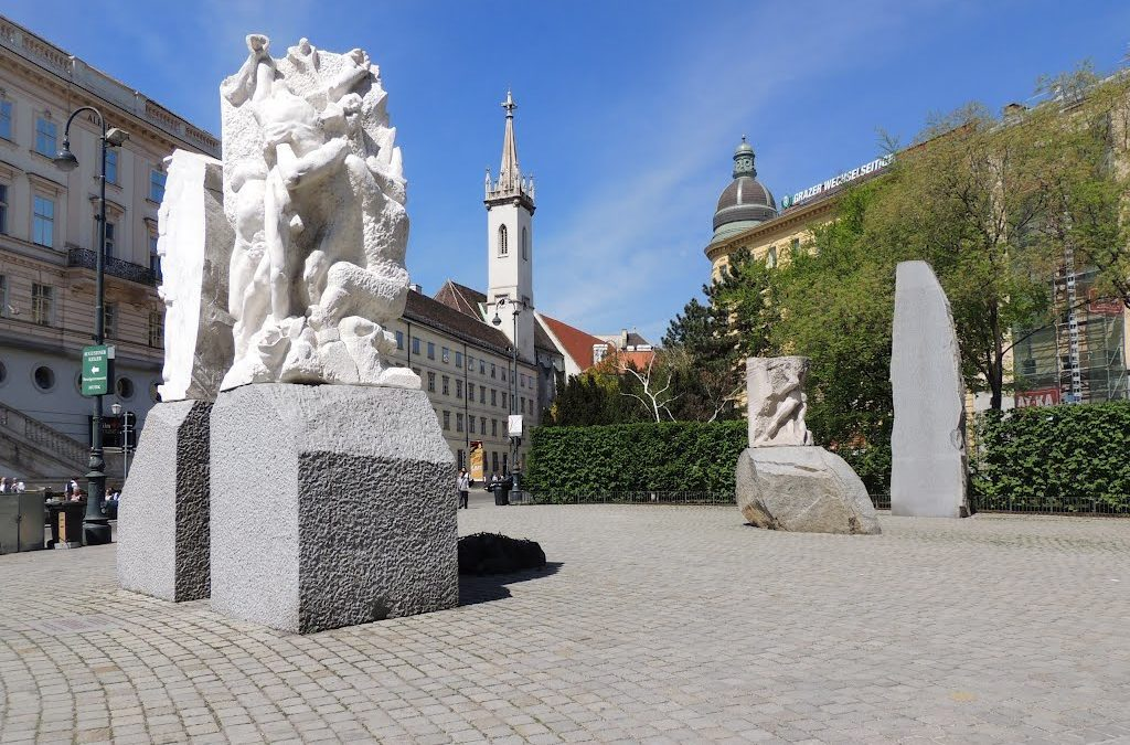 Monday's Monument: Monument Against War and Fascism, Vienna, Austria