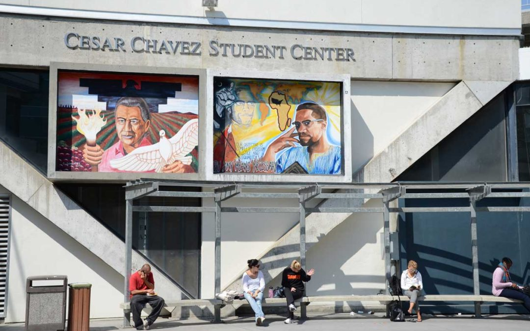 Monday's Monument: Cesar Chavez Mural, San Francisco State University, California
