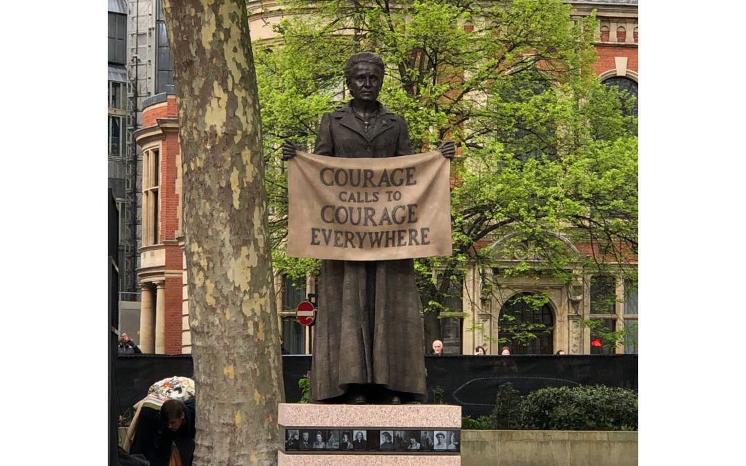 Monday's Monument: Courage Calls to Courage, London, England