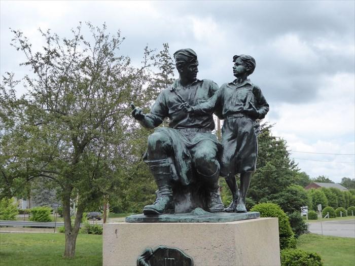 Monday's Monument: It Shall Not Be Again, Orange, Massachusetts