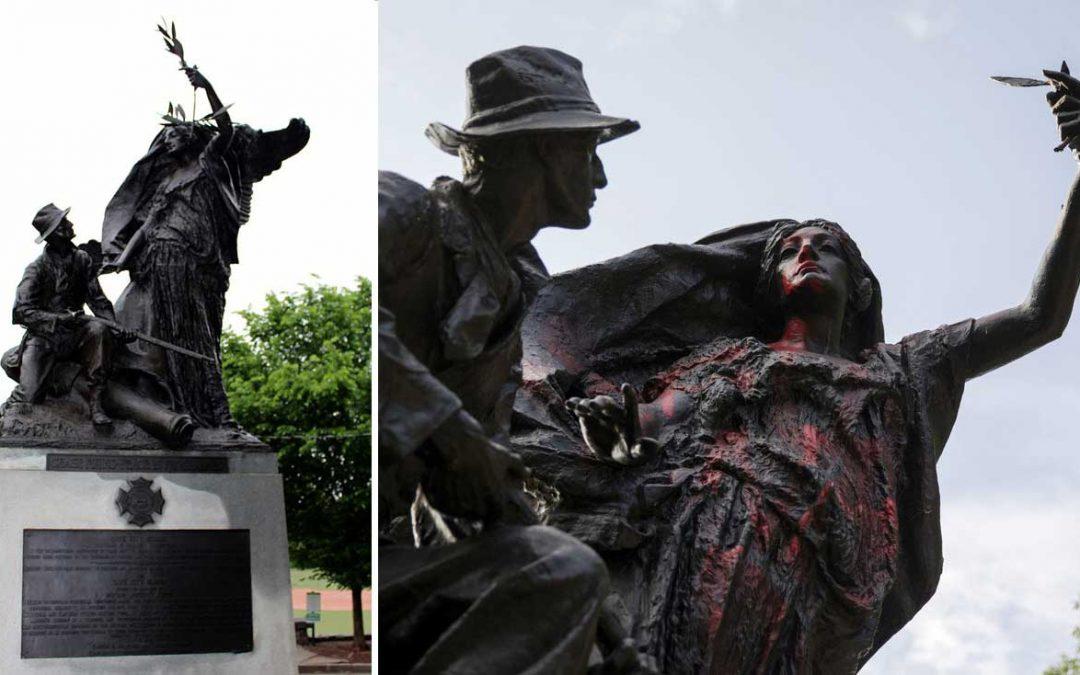 Monday's Monument: Piedmont Park Angel of Peace, Atlanta, Georgia
