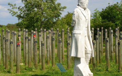 Monday's Monument: Shot at Dawn Memorial, Staffordshire, England