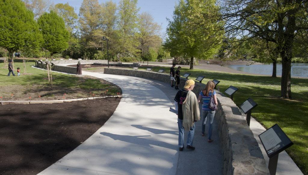 Monday's Monument: Nobel Peace Park, Eugene, Oregon