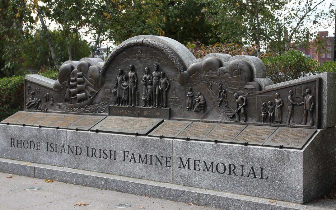 Monday's Monument: Irish Famine Memorial, Providence, Rhode Island