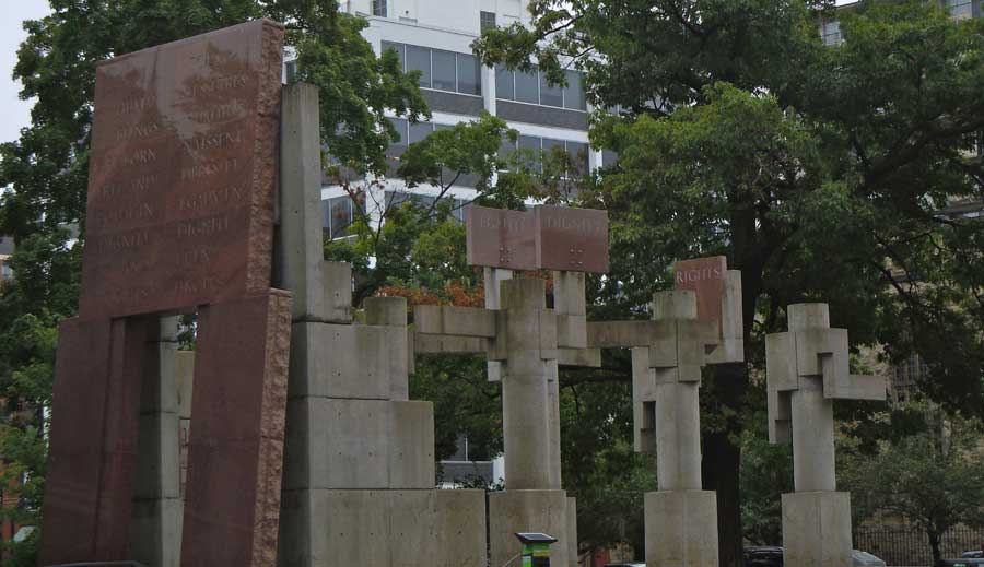 Monday's Monument: Canadian Tribute to Human Rights Monument, Ottawa, Canada