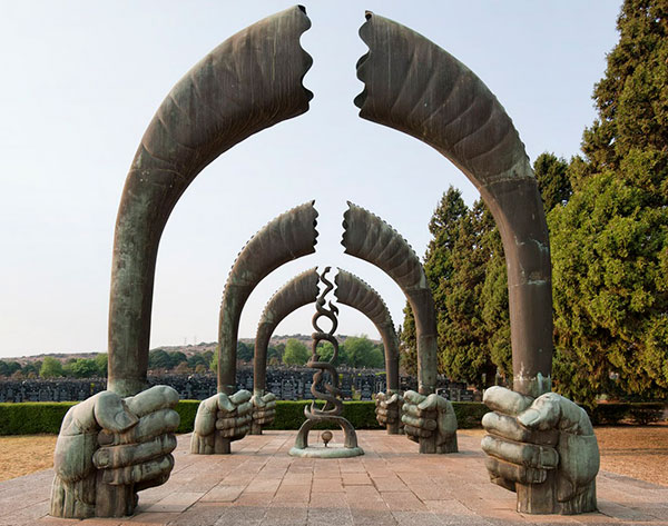 Monday's Monument: Memorial to the Six Million, Johannesburg, South Africa