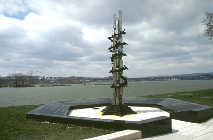 Monday's Monument: Holocaust Memorial, Harrisburg, Pennsylvania
