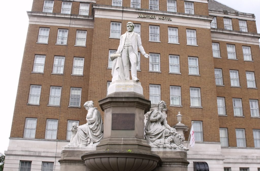 Monday's Monument: Joseph Sturge Memorial, Birmingham, England