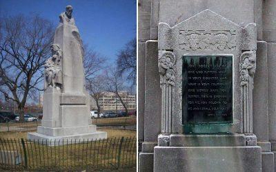 Monday's Monument: Louis Pasteur Statue, Chicago, IL