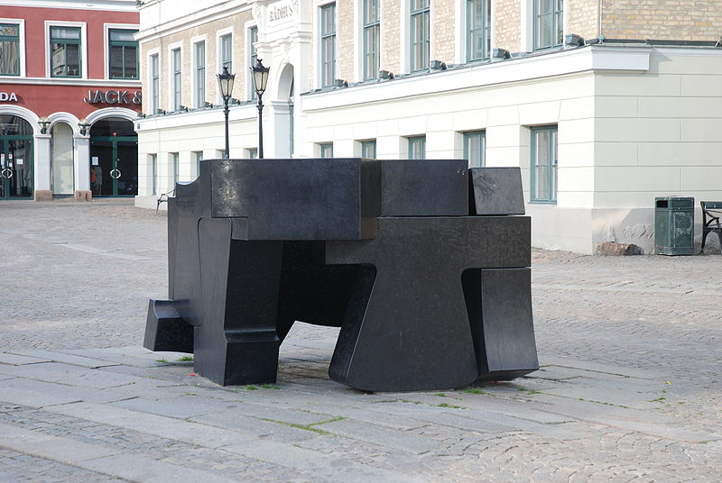Monday's Monument: Rymdfält av fred (Space Field of Peace), Lund, Sweden