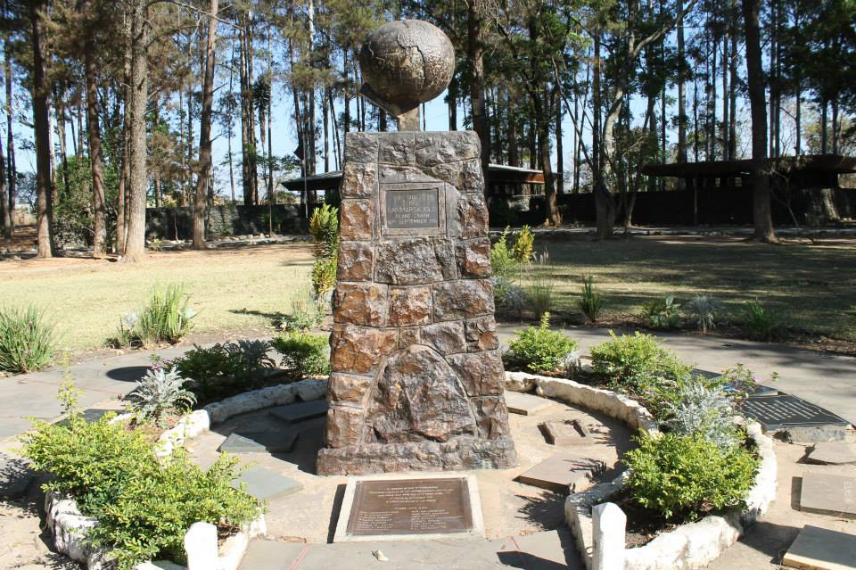 Monday's Monument: Dag Hammarskjöld Crash Site Memorial, Ndola, Zambia