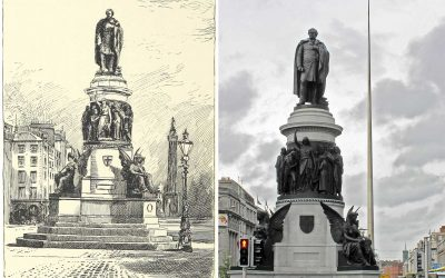 Monday's Monument: Daniel O'Connell Statue, Dublin, Ireland