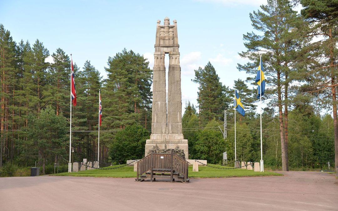 Monday's Monument: Nordic Peace Monument, Morokulien, Norway & Sweden