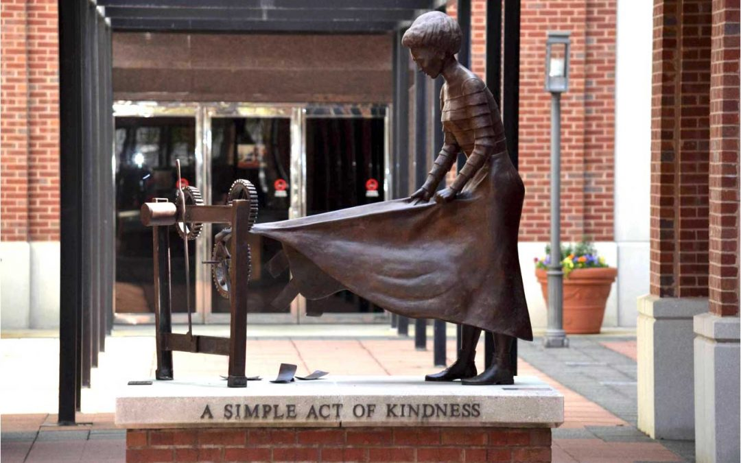 Monday's Monument: A Simple Act of Kindness, Columbus, Georgia