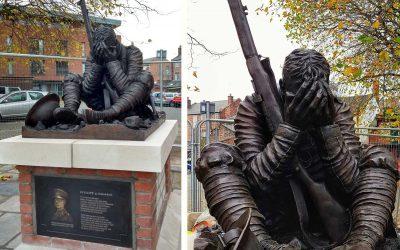 "Monday's Monument: ""Futility"", Wilfred Owen Statue, Birkenhead, England"