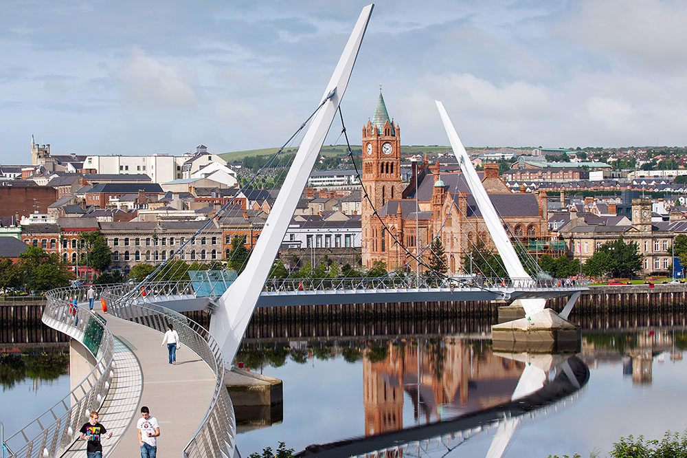 Monday's Monument: Peace Bridge, Derry, Northern Ireland