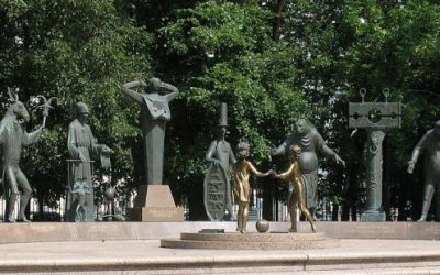 Monday's Monument: Children are Victims of Adults' Vices, Moscow, Russia
